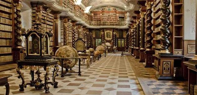 Barokní knihovní sál v Klementinu je opět přístupný veřejnosti