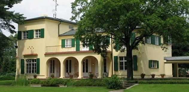 O víkendu se veřejnosti naposledy otevře Benešova vila v Sezimově Ústí