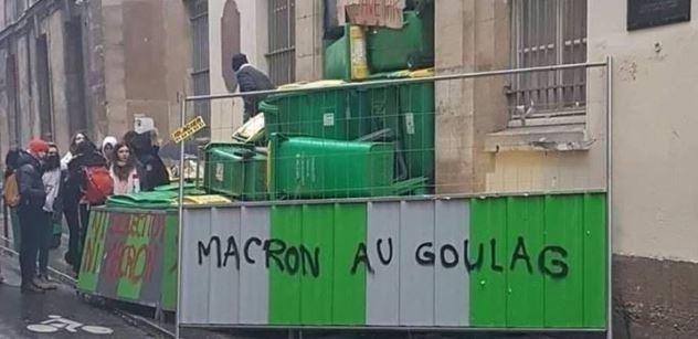 VIDEO Tisícové protesty v Paříži: Stovky zadržených. Vandalové ničí majetek v ulicích