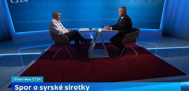Já taky chtěl sirotka, ale... Expertní rozhovor o Sýrii se ČT vymkl z ruky a šíří se Českem