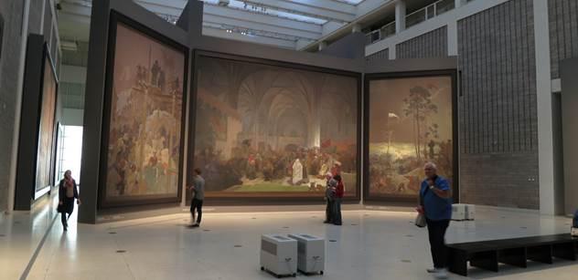Soud bude řešit vlastnictví cyklu obrazů Slovanská epopej