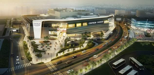 Centrum Chodov se stalo obchodním domem s nejvyšším hodnocením certifikace BREEAM ve fázi designu