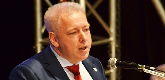 Chovanec v kandidátském projevu varoval před Babišem: Slyšeli jsme jen urážky a že ČSSD je k ničemu