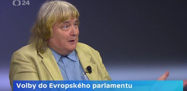 Cibulka vytáhl v ČT své kyvadélko a spustil: Satanská EU, vlastizrádný marxistický projekt. Kecy, novináři lžou