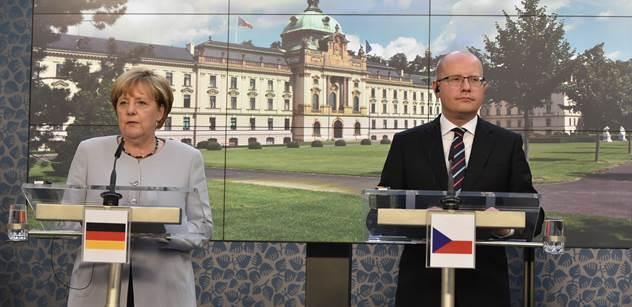 MF DNES trávila den s odpůrci Merkelové. Přečtěte si sami, jak je vyobrazila