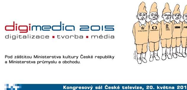 Jubilejní 10. ročník konference o médiích, tvorbě a digitalizaci DIGIMEDIA opět v České televizi