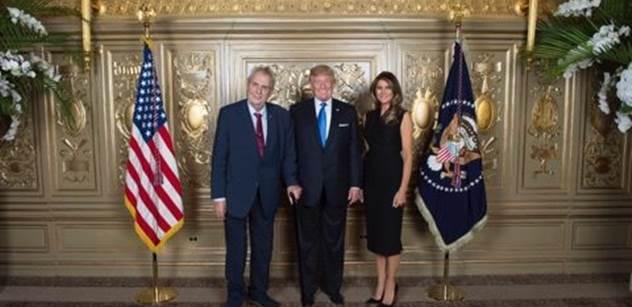 Tak pozor: Miloš Zeman se setkal s Donaldem J. Trumpem, zde je FOTO