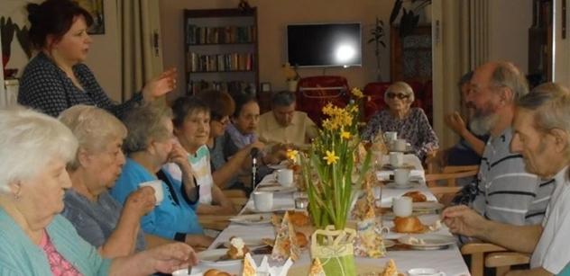 Praha 5: Pobytové odlehčovací zařízení Na Neklance pomáhá seniorům