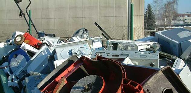 REMA: Češi loni vytřídili více než 15 000 tun elektroodpadu