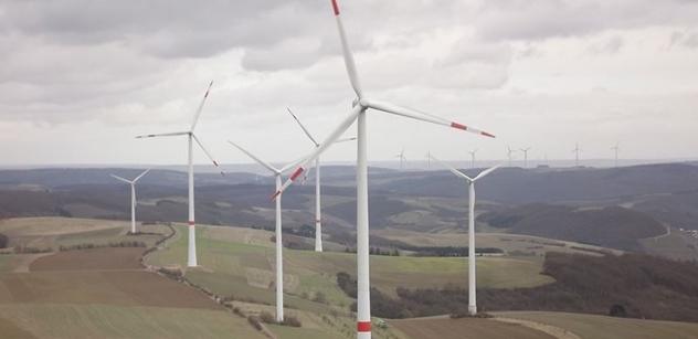 Marian Kechlibar: Občanské iniciativy v Německu úspěšně blokují stavby nových větrných elektráren