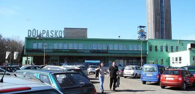 Vláda se bude zabývat státní pomocí při útlumu Dolu Paskov