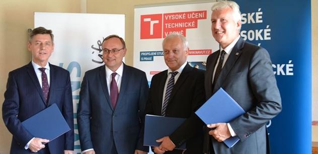 Siemens podpoří devět profesorů na předních českých technických univerzitách