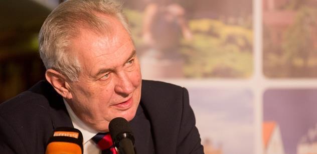 Nesvéprávný blbec, neúspěšný politik, dětičky bohatých rodičů. Miloš Zeman si tentokrát na PL vyřídil účty, odmítl Sobotku a také...