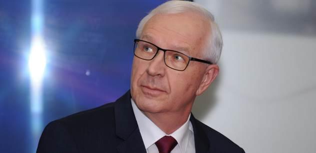 Blbec... Jiří Drahoš už důrazně rozjel 2. kolo