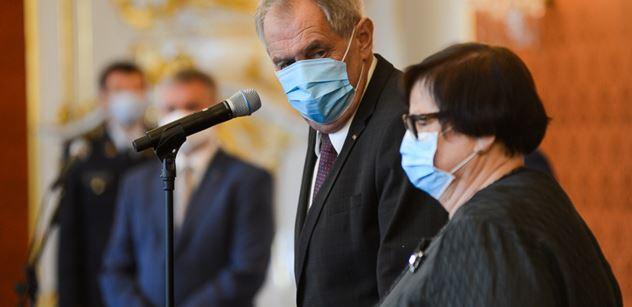 Předseda Nejvyššího soudu Angyalossy prozradil, čím možná zaujal prezidenta Zemana
