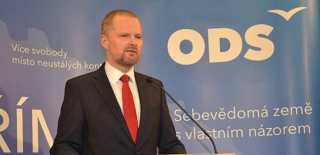 Fiala (ODS): Soukromí a svoboda jsou vládou stále více narušovány. A podvodníci se smějí