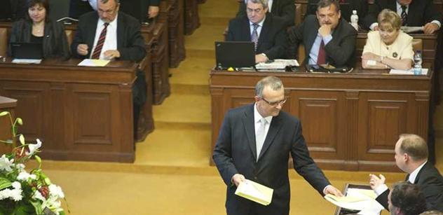 Rebel v TOP 09: S Kalouskovým zvyšováním DPH nesouhlasím