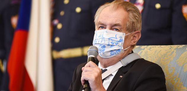 Zeman pro PL: Vyhodit Blatného. Může za mrtvé, blokuje Sputnik. Varuji Babiše