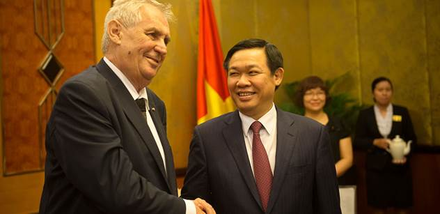 Do Vietnamu bez víz. Již brzy, slibuje prezident Zeman