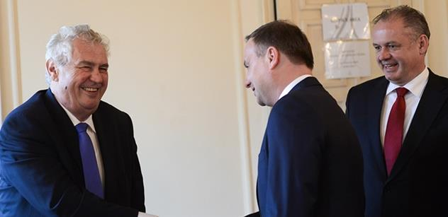 V Maďarsku vyvrcholí schůzka prezidentů zemí Visegrádské čtyřky