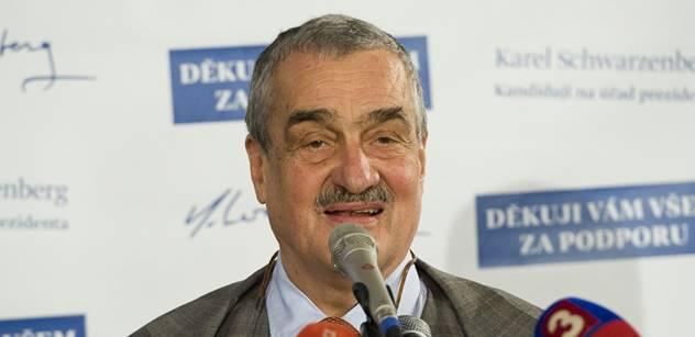 Schwarzenberg své lidi prý vyšle jako chargé d'affaires