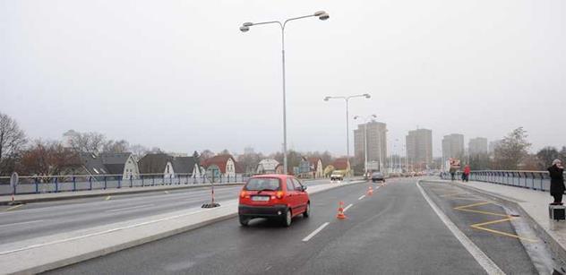 Ředitelství silnic a dálnic zahájilo výstavbu dvou mostů v Plzni