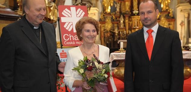 Brigita Janovská: Delegace pro duchovní rozvoj Evropy, pečivo podle arménské receptury aneb Charitu v Mostě navštívilo bavorské Oráčovo společenství