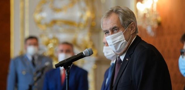 Prezident Zeman: Nesmíme se nechat ovládnout strachem z nenávistných fanatiků