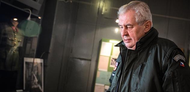 Český PEN klub kritizuje prezidenta Zemana za jeho výroky k migraci