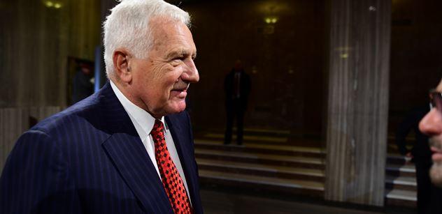 Václav Klaus vzpomínal na George Bushe: Byl to poslední velký prezident. Ti po něm na něj neměli