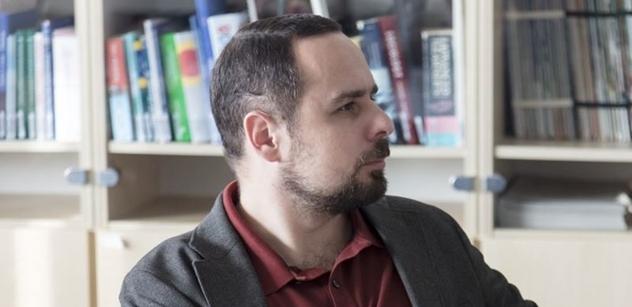 Dalibor Levíček: Brát jídlo, kde přebývá, a dávat ho, kde chybí