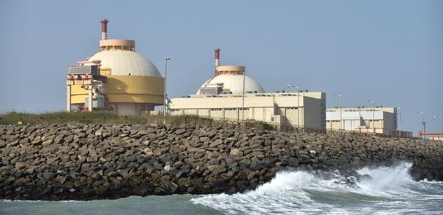 Rosatom: Rusko a Indie podepsaly dokument o výstavbě šesti nových jaderných bloků