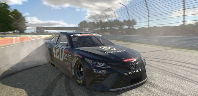 Autodrom Most se zviditelnil vítězstvím v evropské virtuální sérii NASCAR