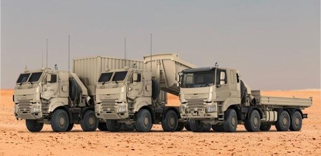 Společnost DAF získává velkou objednávku od belgických ozbrojených sil