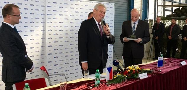 """Migrace je řízená invaze, která nás má rozvrátit, nedá Miloš Zeman ani dnes pokoj ,,sluníčkářům"""". A bylo toho dnes ještě víc"""