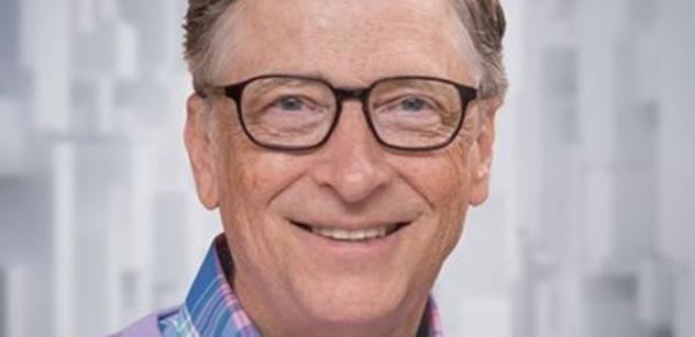 Bill Gates zvěstuje: Vakcíny přišly rychle. Musíme je vyrobit pro celý svět. Rok 2021 bude lepší