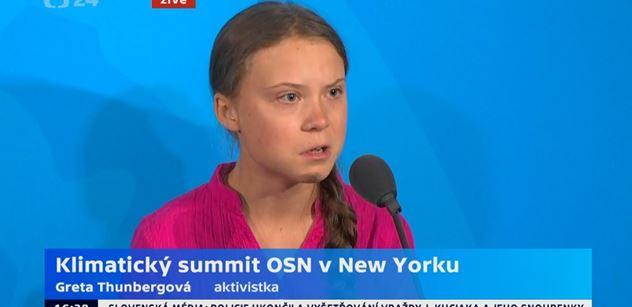Greta protáhla obličej, když jí Donald Trump ukradl show. Šíří se VIDEO ze zákulisí OSN