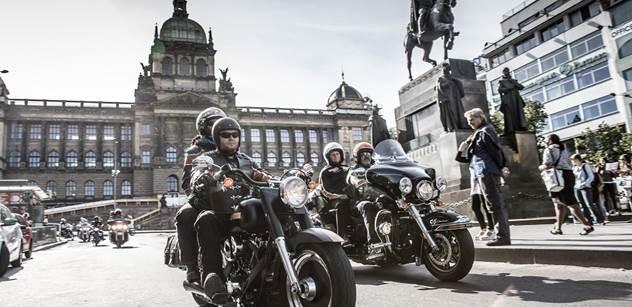 Motocykly Harley-Davidson patří mezi Čechy k nejoblíbenějším