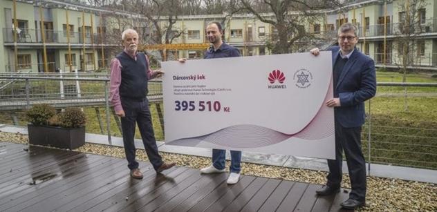 Petr Brandtner: Domovu Hagibor putuje čtyřsettisícový dar na provoz a boj s Covid-19