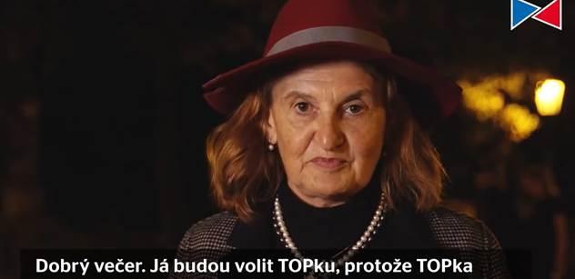 Pozor, Eva Holubová. Bursíkovci a TOP 09 tahají esa. A tohle VIDEO jste viděli?