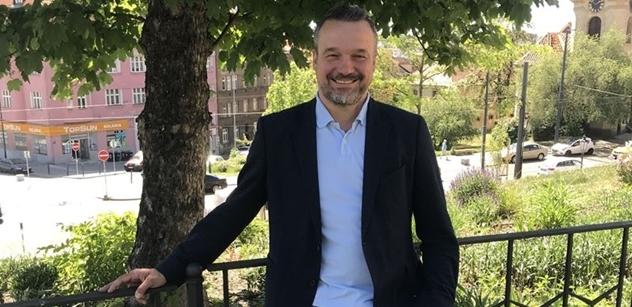 """""""Chtěl bych být starostou Prahy 10 a doufám, že mi voliči tu šanci dají,"""" říká Filip Humplík z ODS"""