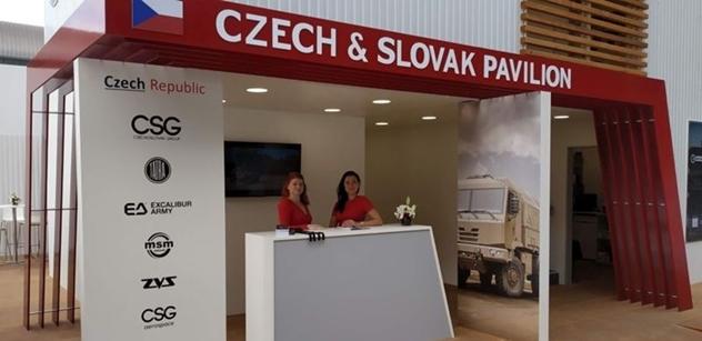 Na veletrhu IDEX 2019 v Abu Dhabí poutaly velkou pozornost exponáty českých a slovenských firem holdingu CZECHOSLOVAK GROUP a společnosti TATRA TRUCKS