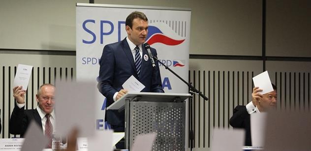 Okamurův poslanec: Za řádění muslimů můžou obránci imigrace a EU. Musíme to zastavit, než začnou zabíjet v českých městech. Zeman nás brání před idiotskými politiky