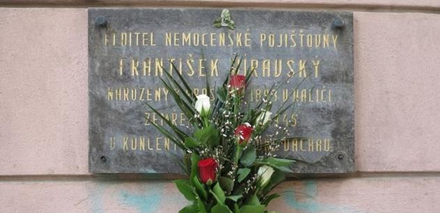Městská část Praha 5 uctila památku Františka Viravského