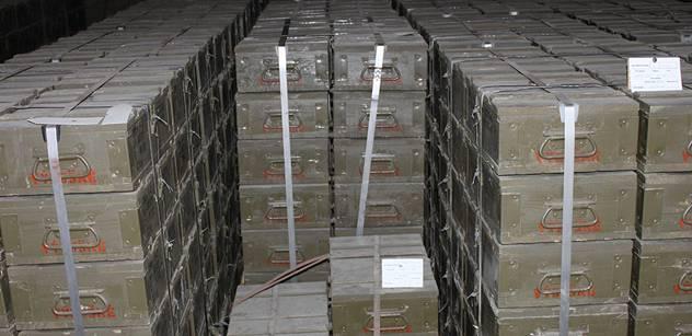 Dnes začnou kamiony odvážet munici z Vrbětic do Květné na Svitavsku
