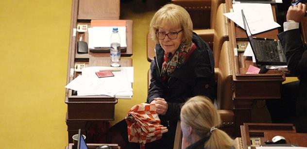 Poslankyně Válková: Nepodceňuji nebezpečí, která by mohla ohrozit naši demokracii