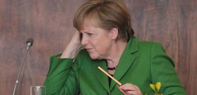 Špatné, paní Merkelová... Tereza Spencerová cítí nervozitu: Jde o Západ a Rusko