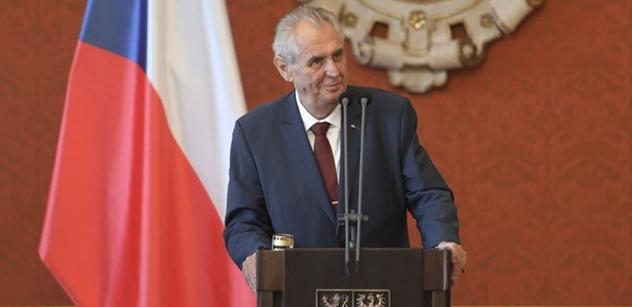 Na blití? Mrtvolo Topolánku! smál se Zeman a probral Turecko, Češku v Pákistánu či slovenské volby