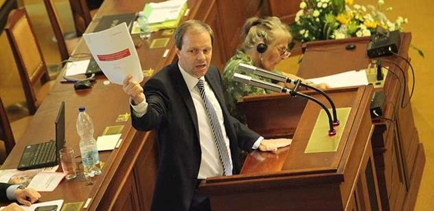 Sněmovna projednává možné navýšení peněz do sportu, řekl Chládek