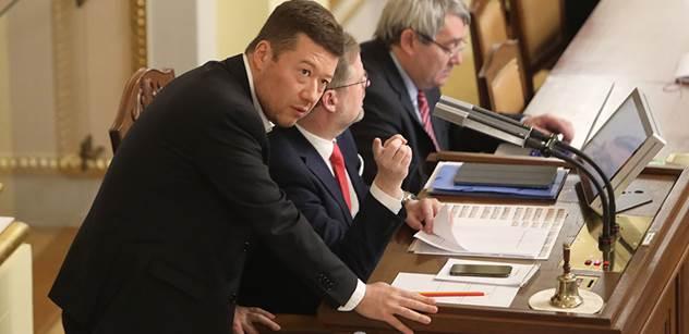 Okamura se podle Rychetského neměl stát místopředsedou Sněmovny